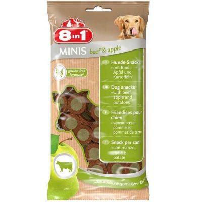 8 in 1 - 8 in1 Minis Biftekli Elmalı Köpek Ödülü 100