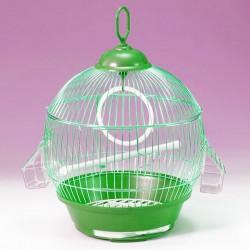 QH PET CAGE - Qh Pet Cage Yuvarlak Salon Kuş Kafesi Ø29x35 CM