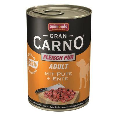 Animonda - Animonda Gran Carno Hindili Ördekli Yetişkin Köpek Konservesi 400 Gr