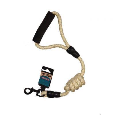 Ans - Ans Uzatılabilir Örme Köpek Gezdirme - 1,4 cm KREM