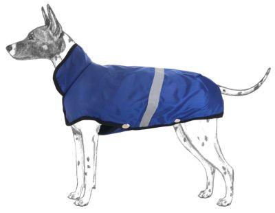 Diğer - Apco Köpekler İçin Yağmurluk Mavi Orta Irklar