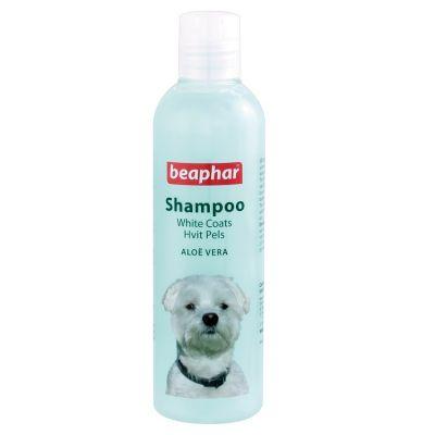 Beaphar - Beaphar Aloe Vera Blue Beyaz Tüylü Köpekler İçin Şampuan 250 Ml