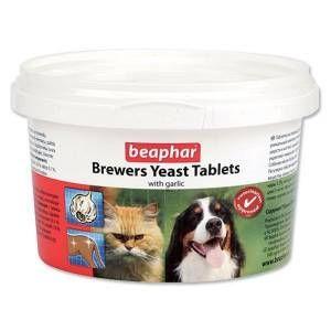 Beaphar - Beaphar Kedi-Köpekler için Brewers Yeast Sarımsaklı Tablet 250ml