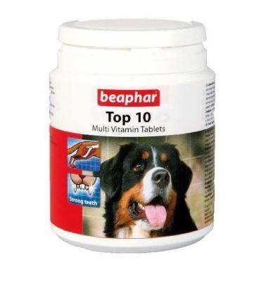 Beaphar - Beaphar Top 10 Köpekler için Multivitamin Tablet (180 TABLET)