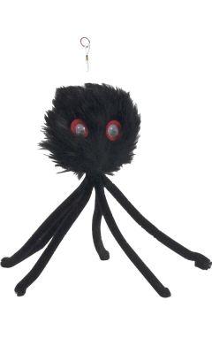 Beeztees - Beeztees Lastikli Peluş Örümcek Kedi Oyuncağı 17 Cm