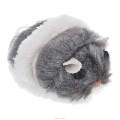 Beeztees - Beeztees Peluş Titrek Hamster Kedi Oyuncağı 7 Cm