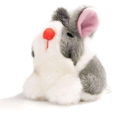 Beeztees - Beeztees Peluş Titrek Tavşan Kedi Oyuncağı 10 Cm
