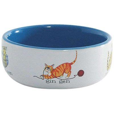 - Beeztees Porselen Kedi Figürlü Mama Kabı 325 ml