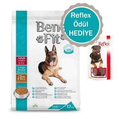 Benefit - Benefit Kuzulu Pirinçli Büyük Irk Yetişkin Köpek Maması 12 Kg