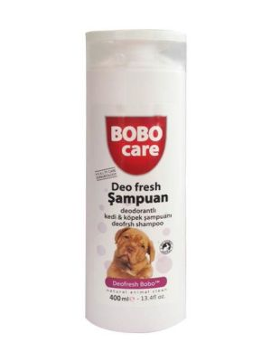 - Bobo Deodorantlı Kedi Köpek Şampuanı 400 Ml