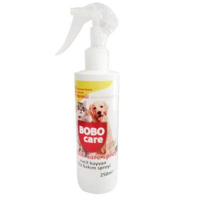 Bobo - Bobo Kedi Ve Köpekler İçin Tüy Bakım Spreyi 250 ml