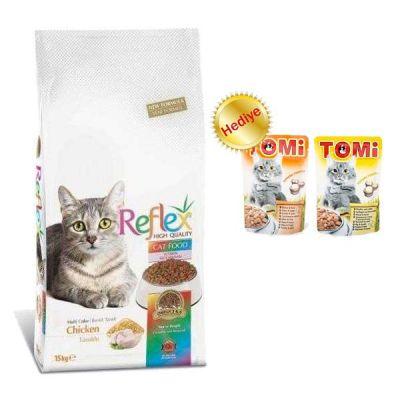 Reflex - Reflex Multi Color Yetişkin Kuru Kedi Maması 1,5 Kg