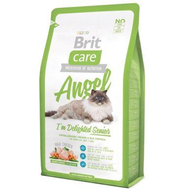 Brit Care - Brit Care Angel Tavuklu Yaşlı Kedi Maması 2 Kg
