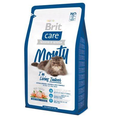 Brit Care - Brit Care İndoor Tavuk Pirinçli Ev Kedisi Kedi Maması 2 Kg