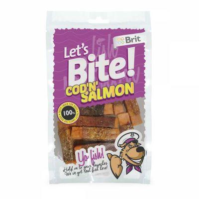 Brit Care - Brit Care Lets Bite Cod N Somonlu Köpek Ödülü 80 Gr