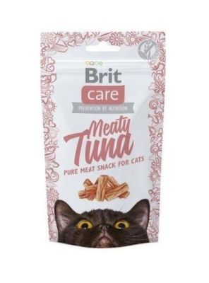 Brit Care - Brit Care Meaty Tuna Balıklı Kedi Ödülü 50 Gr