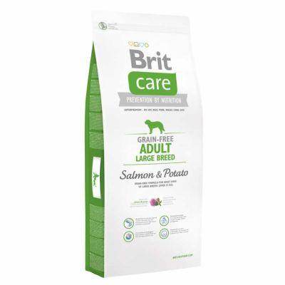 Brit Care - Brit Care Somonlu Tahılsız Yetişkin Büyük Irk Köpek Maması 12 Kg