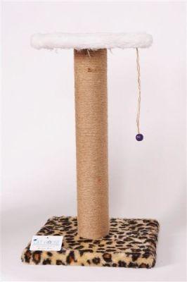 Cat Hause - Cat House Kedi Tırmalama Standı 58 Cm Leopar