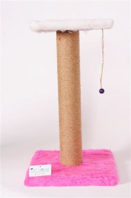 Cat Hause - Cat House Kedi Tırmalama Standı 58 Cm Pembe
