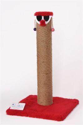 Cat Hause - Cat House Palyaço Kedi Tırmalaması 60 Cm Kırmızı