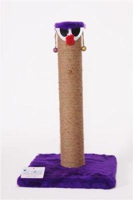 Cat Hause - Cat House Palyaço Kedi Tırmalaması 60 Cm Mor