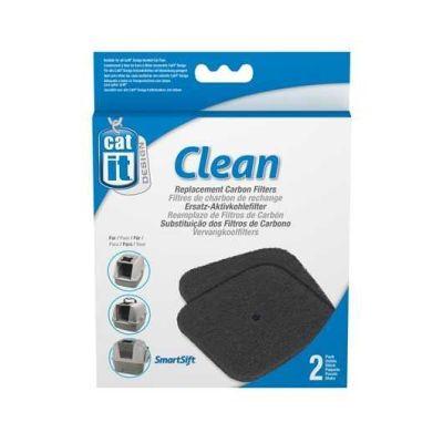 Catit - Catit Tuvalet Kabinleri İçin Karbon Filtre 2 Li