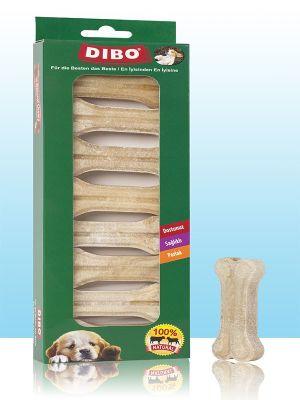Dibo - Dibo Beyaz Pres Köpek Ödül Kemiği 8 Li 160 Gr