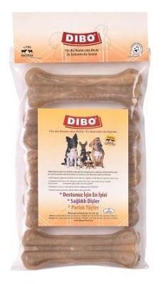 Dibo - Dibo Naturel Pres Köpek Ödül Kemiği 13 Cm 5 Li 375 Gr