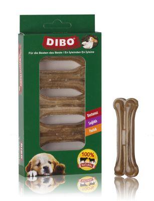 Dibo - Dibo Naturel Pres Köpek Ödül Kemiği 5 Li 100 Gr