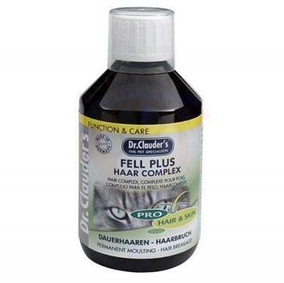 Dr.Clauders - Dr. Clauders Kedi Dolgun Tüy Dökülme ve Kırılmalarına Karşı Sıvı Besin 250ml