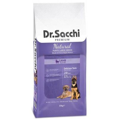 Dr.Sacchi - Dr. Sacchi Puppy Large Lamb Büyük Irk Yavru Köpek Maması 15kg