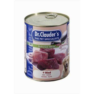 Dr.Clauders - Dr.Clauders Biftekli Köpek Konservesi 400 Gr
