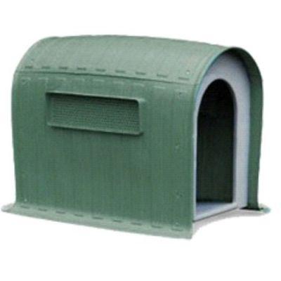Dr.Sacchi - Dr.Sacchi Plastik Köpek Kulübe Oval(YEŞİL) 99X66,5X92,5 CM