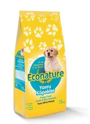 Diğer - EcoNature Kuzu Etli Yavru Köpek Maması 15 KG