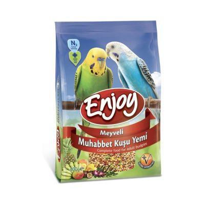 Enjoy - Enjoy Meyveli Muhabbet Kuşu Yemi 400 gr