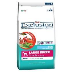 Exclusion - Exclusion Balık Etli Yetişkin Büyük Irk Köpek Maması 12,5 Kg