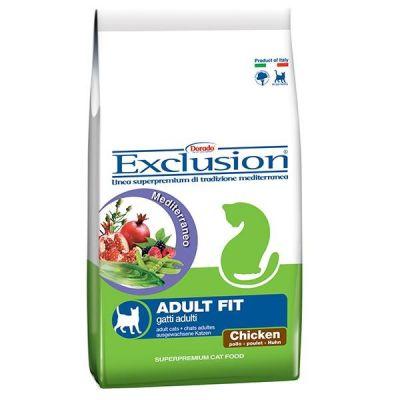 Exclusion - Exclusion Tavuk Etli Fit Yetişkin Kedi Maması 2 Kg
