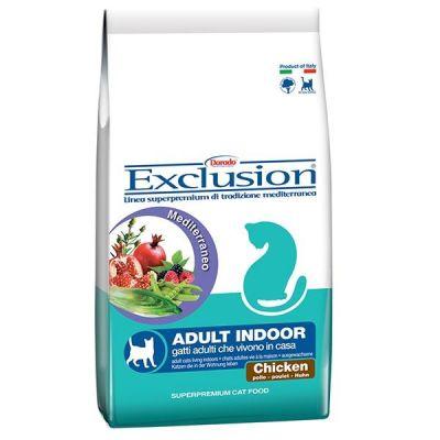 Exclusion - Exclusion Tavuk Etli Indoor Yetişkin Kedi Maması 2 Kg