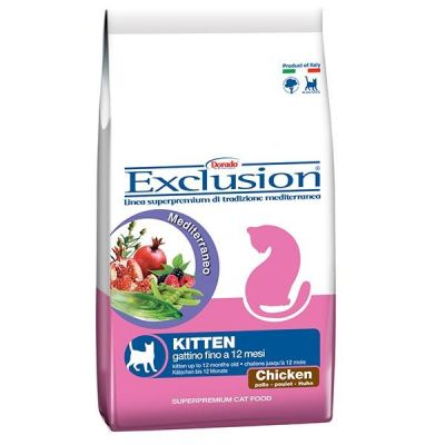 Exclusion - Exclusion Tavuk Etli Yavru Kedi Maması 2 Kg