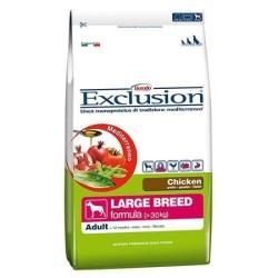 Exclusion - Exclusion Tavuk Etli Yetişkin Büyük Irk Köpek Maması 12,5 Kg