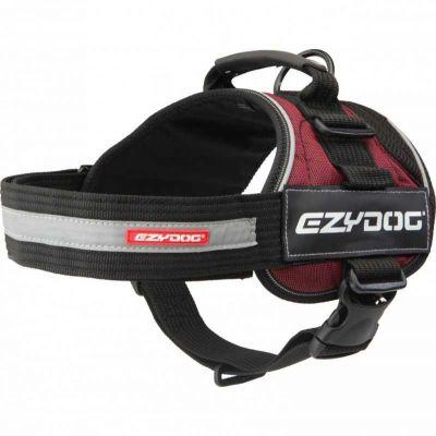 EzyDog - EzyDog Convert Harness Modern Köpek Göğüs Tasması Bordo Large