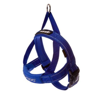 EzyDog - Ezydog Quick Fit Göğüs Tasması 2XS Mavi