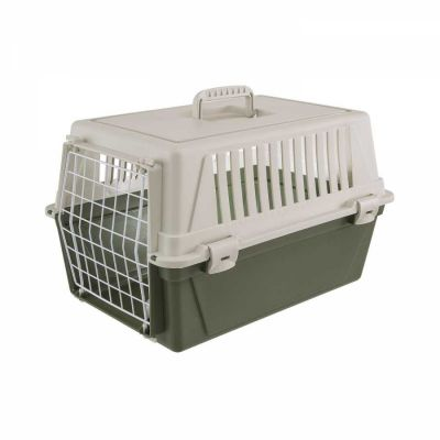 Ferplast - Ferplast Atlas 10 El Küçük Boy Köpek Kedi Taşıma Kabı YEŞİL