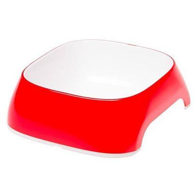 Ferplast - Ferplast Glam Small Melamin Mama Kabı Kırmızı 400 Ml