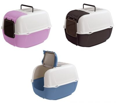 Ferplast - Ferplast Home Prima Cabrio Kapalı Kedi Tuvaleti