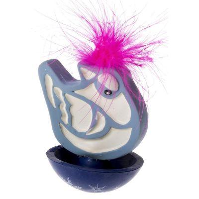 Ferplast - Ferplast Kuş Figürlü Plastik Kedi Oyuncağı