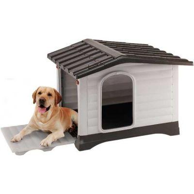 Ferplast - Ferplat Dog Villa 90 Plastik Köpek Kulübesi