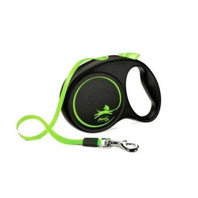 Flexi - Flexi Limited Edition Köpek Gezdirme Tasması 5 Metre Yeşil