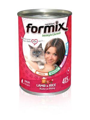 Diğer - Formix Kuzulu & Pirinçli Kedi Konservesi 415 Gr