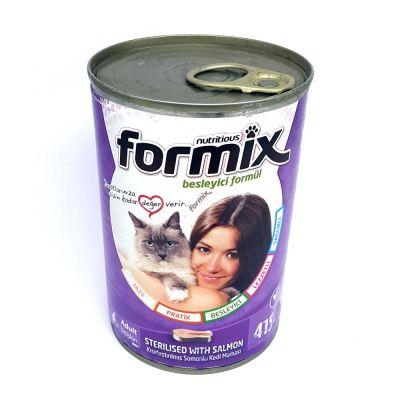 Diğer - Formix Somonlu Kısırlaştırılmış Kedi Konservesi 415 Gr